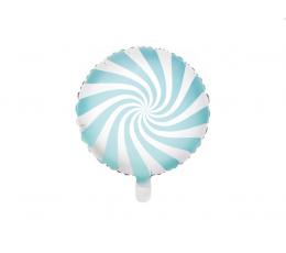 """Фольгированный шарик """"Голубая конфетка"""" (45 см)"""