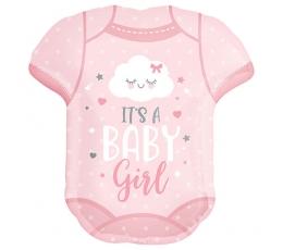 """Фольгированный шарик """"It's a baby girl"""" (55x60 см)"""