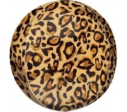 """Фольгированный шарик орбз """"Гепард"""" (38 x 40 cm)"""