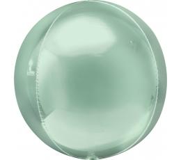"""Фольгированный шарик """"Orbz"""", мятного цвета (38х 40 см)"""