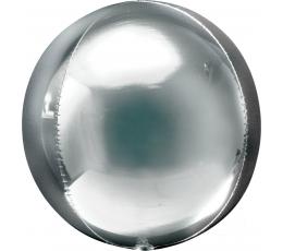 """Фольгированный шарик """"Orbz"""" , серебряный"""