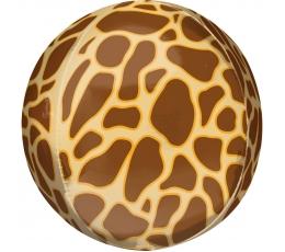 """Фольгированный шарик орбз """"Жирафа"""" (38 x 40 cm)"""
