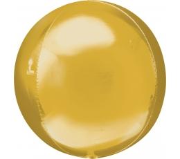 """Фольгированный шарик """"Orbz"""", золотого цвета (38 см)"""
