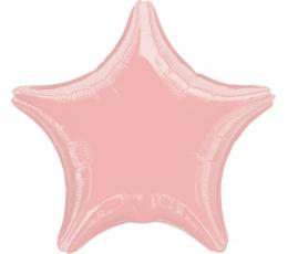 """Фольгированный шарик """"Розовая звезда"""" (45 см)"""