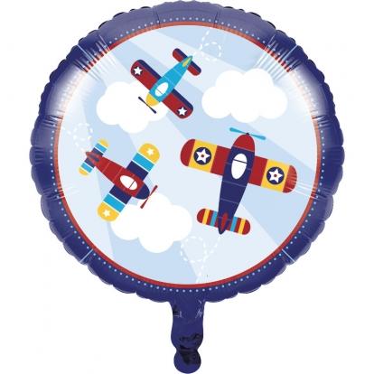"""Фольгированный шарик """"Самолеты"""" (45 см)"""