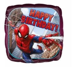 """Фольгированный шарик """"Spider Man-Happy birthday"""""""