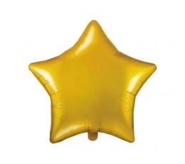 """Фольгированный шарик """"Золотая звезда"""" (48 см)"""