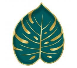 """Форменные тарелочки """"Золотые пальмы"""" (8 шт/18 х 22 см)"""