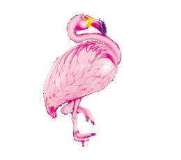 """Форменный фольгированный шарик """"Фламинго"""" (70 х 121 см)"""