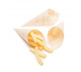 Формочки для закусок в форме конусов (25 шт/ 12 см)