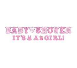 """Комплект """"Baby Shower/It's a girl"""" гирлянд (2 шт)"""
