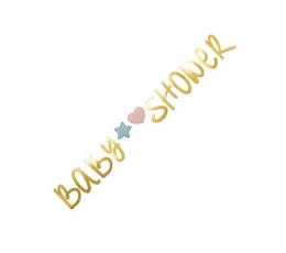 """Гирлянда """"Baby shower"""" (2,2 м)"""