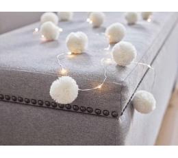 """Гирлянда LED лампочками """"Белые шарики"""" (2 м)"""