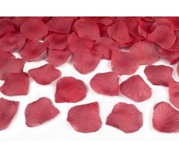 """Хлопушка с декоративными конфетти """"Красные лепестки"""" (60 см)"""