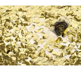 Хлопушка с золотыми конфетти, маленькая