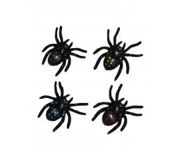 Искусственные пауки (4 шт.)