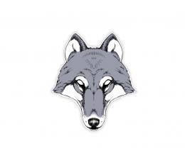 """Картонная маска """"Волк"""""""