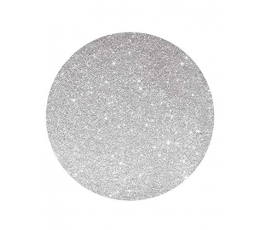 Картонные подставки, серебряные  - блестящие (4 шт/ 33 см)