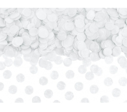Конфетти, белые бумажные (15 г)