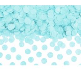 Конфетти, светло синие бумажные (15 г)