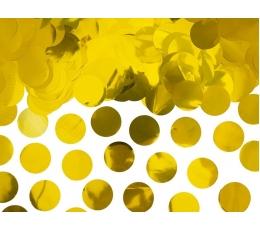 Конфетти, золотые фольгирование (15 г)