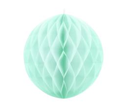Декоративный шар, мятный, светлый (20 см)