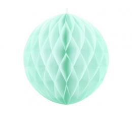 Декоративный шар, мятный, светлый (30 см)
