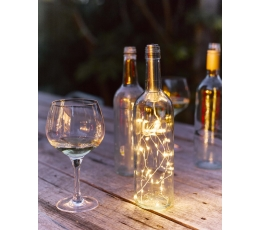 LED гирлянда для бутылок (1 м)