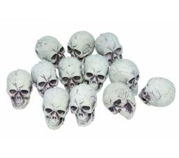 Маленькие черепа (12 штук / 4 см)