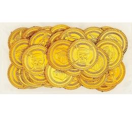 Монеты, золотого цвета (30 шт)