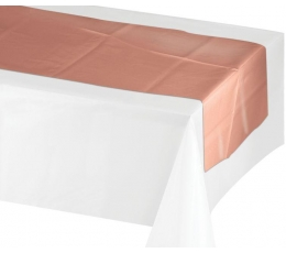 Настольная дорожка, цвета розового золота (35 х 213 см)