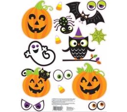 """Оконные декорации-наклейки """"Друзья на Хеллоуин"""""""