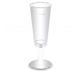 Пластмассовые бокалы, прозрачные (6 шт/ 100 мл)