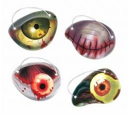 "Повязки для глаз ""Хеллоуин глаза"" (12 шт.)"