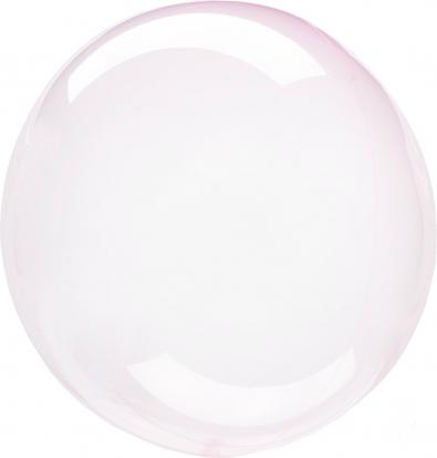 Резиновый шарик-clearz , с розовым оттенком (40 см)