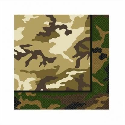 "Салфетки ""Армия"" (16 шт. / 33x33 см)"