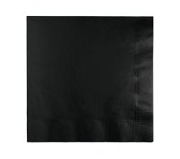Салфетки, черные (50 шт)