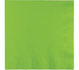 Салфетки, салатового цвета (20 шт)