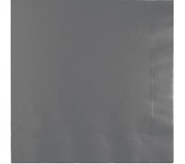 Салфетки, серые -матовые (50 шт)
