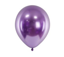 Шарик , металлизированный (хром), фиолетовый (30 см)