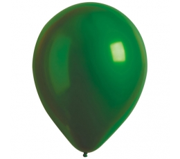 Шарик , металлизированный (хром), зеленый (30 см)