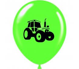 """Шарик """"Трактор"""", салатового  оттенка (30 см)"""