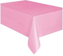 Скатерть , розовая(137x274 см)