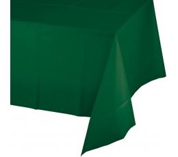 Скатерть, темно зеленая (137 х 274 см)