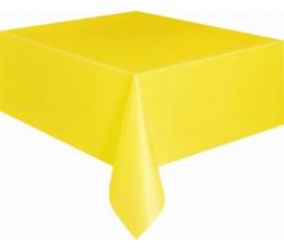 Скатерть , ярко желтая(137x274 см)