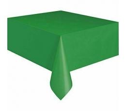 Скатерть , зеленая(137x274 см)
