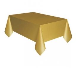 Скатерть ,  золотая с коричневым оттенком (137 x 274 см)