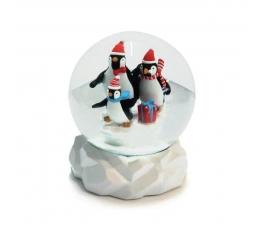 "Снежный шар ""Пингвины"""