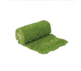 Настольная дорожка из натурального мха, зеленая (30x200 см)