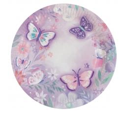 "Тарелки ""Бабочки"" (8 шт. / 22 см)"
